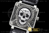 Копии часов Bell & Ross BR01 2016 Burning Skull Limited Edition