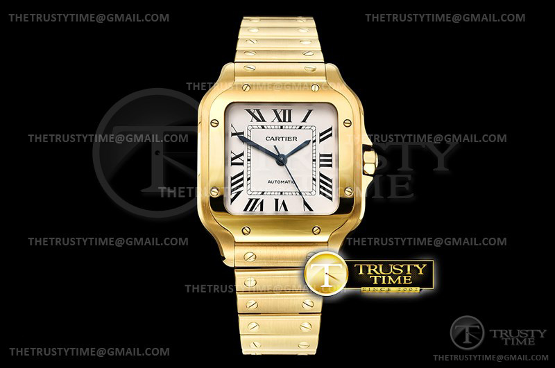 Копии часов Cartier Santos De Cartier Ladies